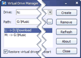 Virtual Drive Manager